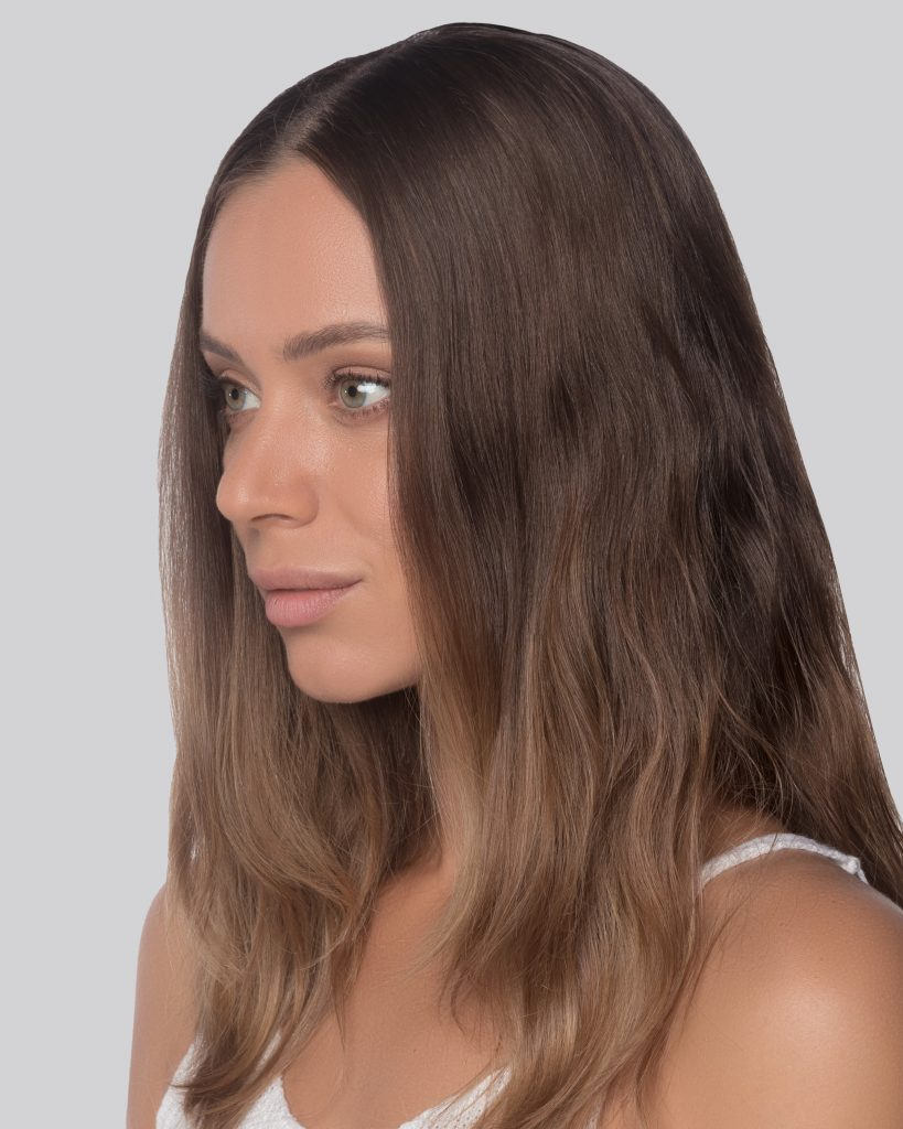 NATURAL DOWN HAIR WOMEN v23
