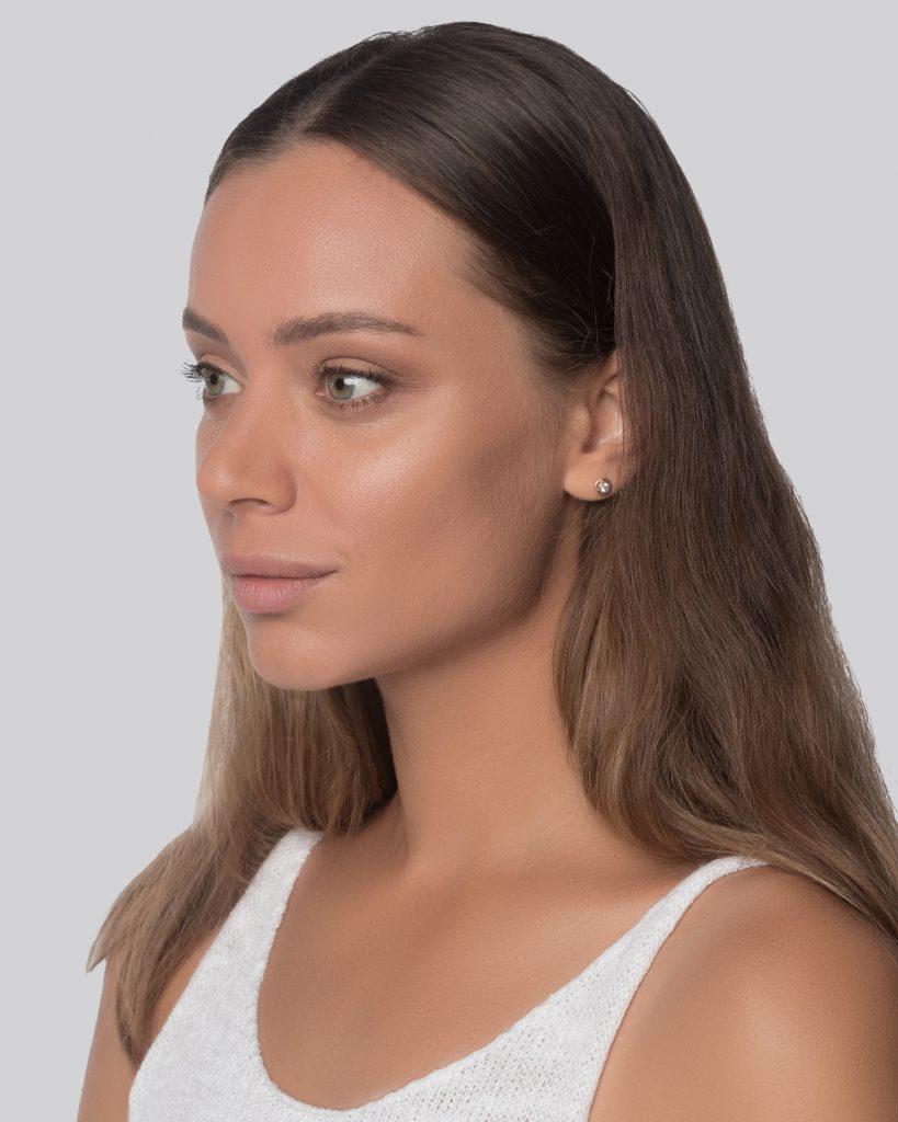 NATURAL DOWN HAIR WOMEN v24