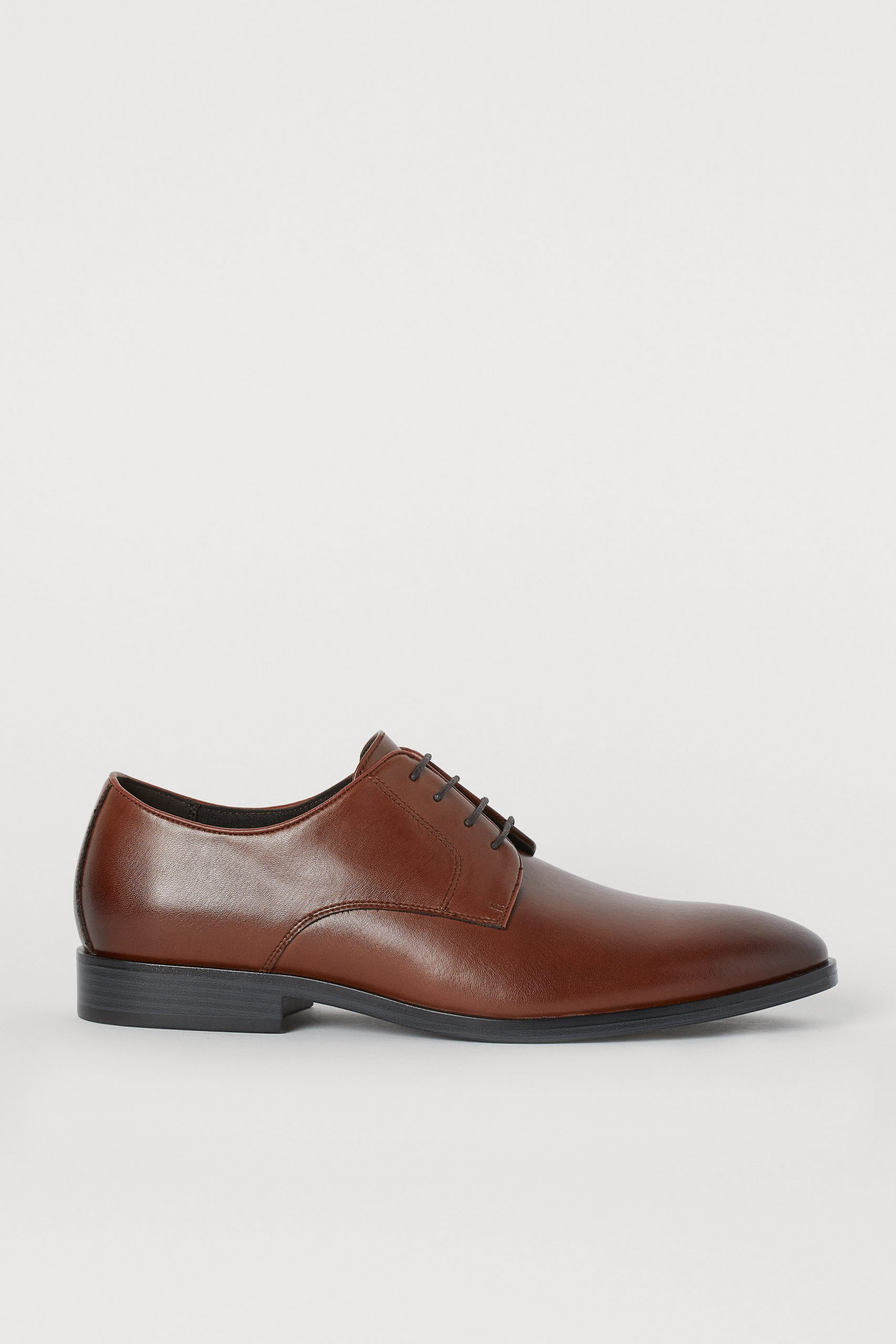 BROWN FORMAL LACE UP DERBY SHOE 2